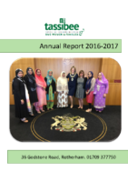 Tassibee Annual Report 2016